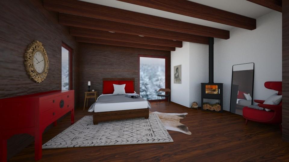 cabin - Bedroom - by REGINA100