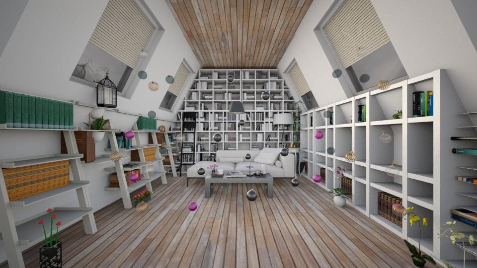 Library - Modern - by Ebru Tekneci