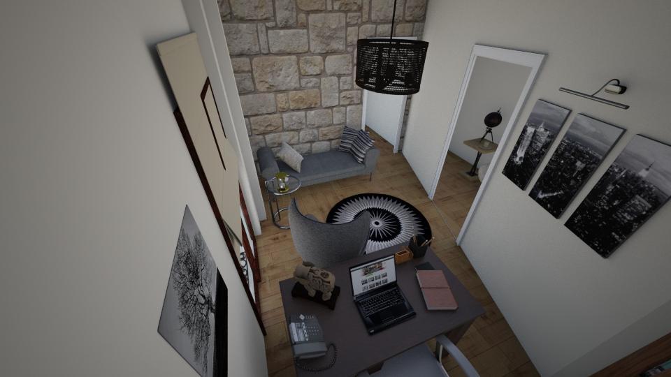 Marias test 2 - Office - by Georgia Perrou