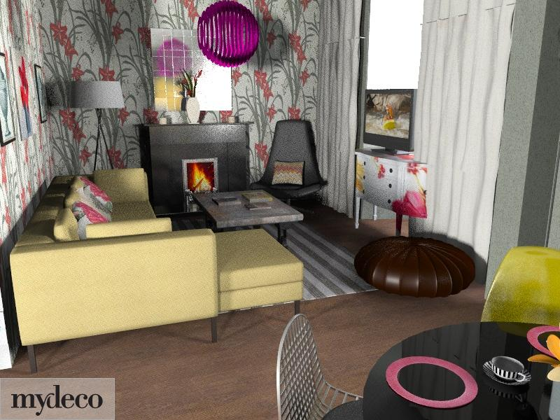 Flower forest. - Eclectic - Living room - by overtherainbow