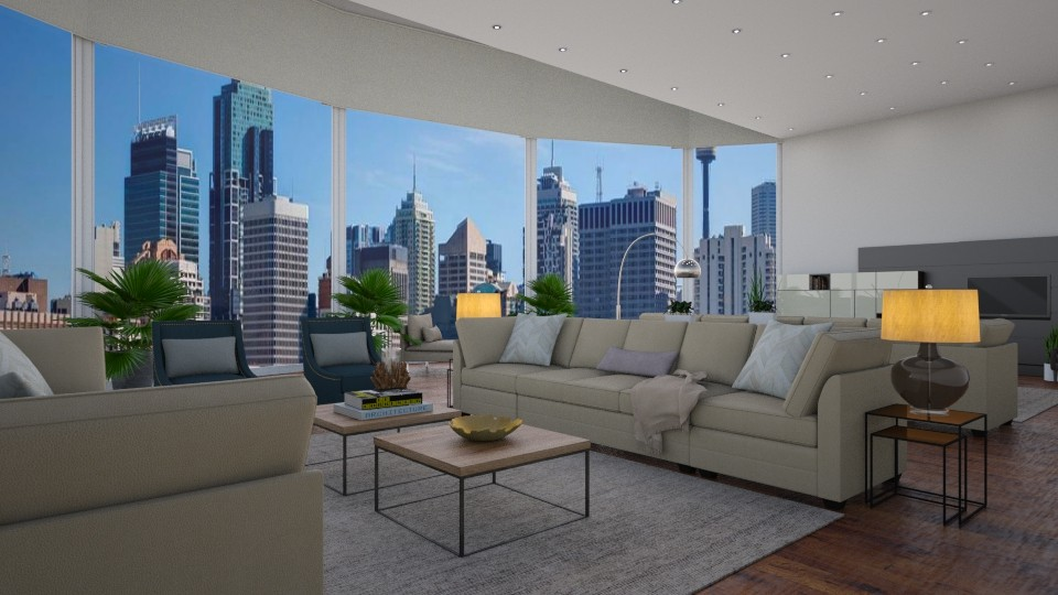 House 4 - Living room - by luiza cruz