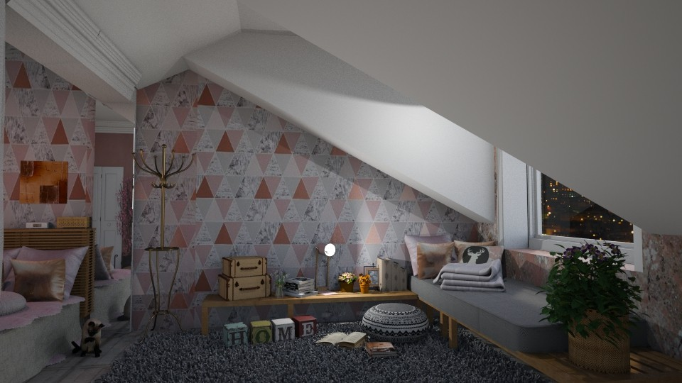 Attic bedroom - by Brubs Schmitt