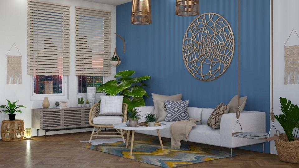 boho  - Living room - by stef_eck