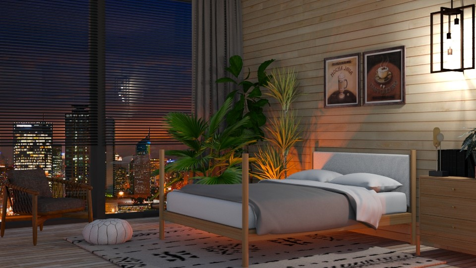 Oak - Bedroom - by lovedsign