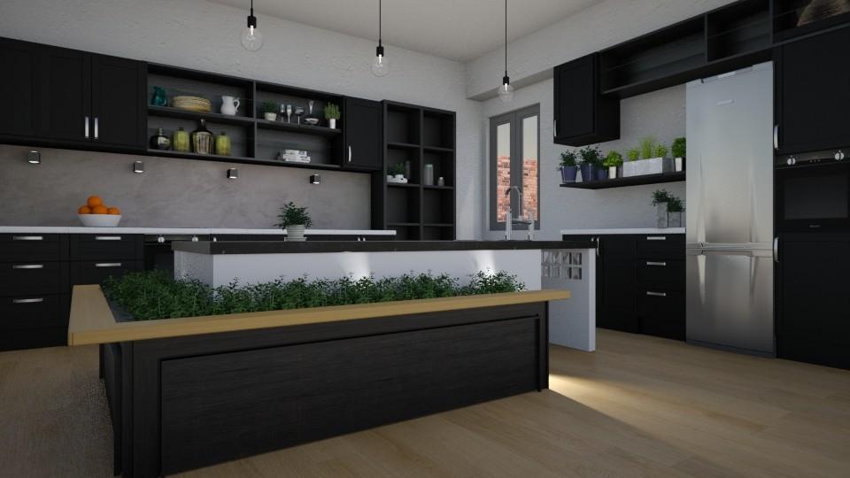 Herb Kitchen - by yonvie