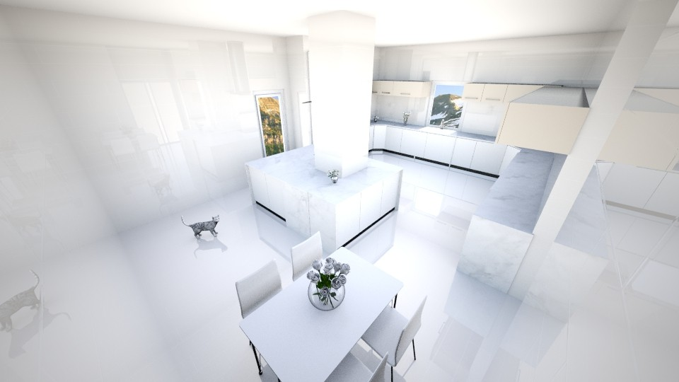 Mountains House - Modern - Kitchen - by AnaCatarina