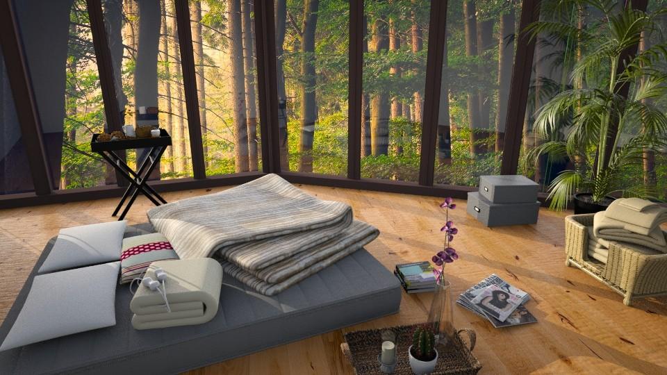 forest - Bedroom - by Inokentijroom