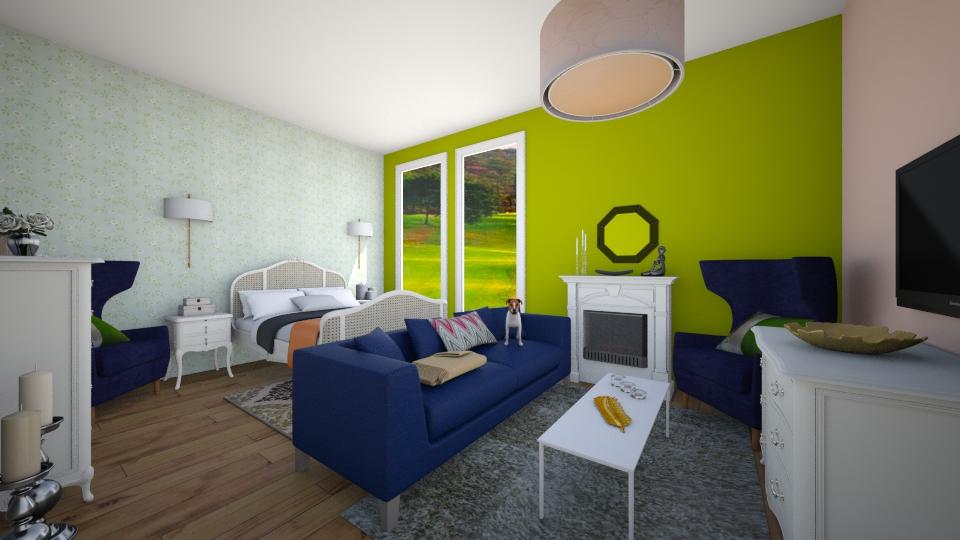 261 - Bedroom - by Zeynep Agcabal