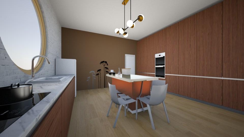 kitchen - Modern - Kitchen - by Zuziq