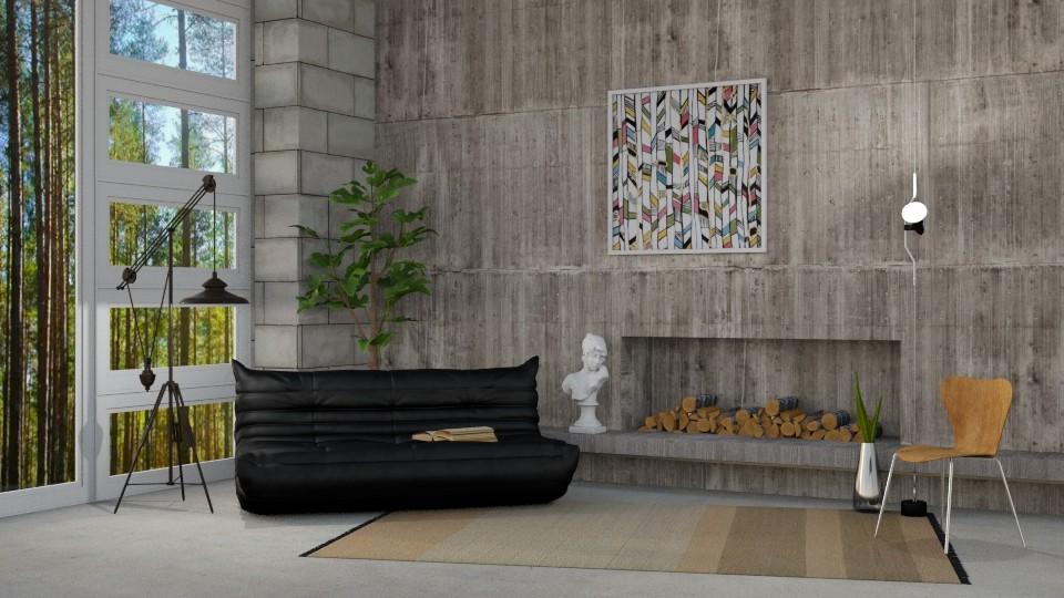 Minimalist Concrete - by DeborahArmelin