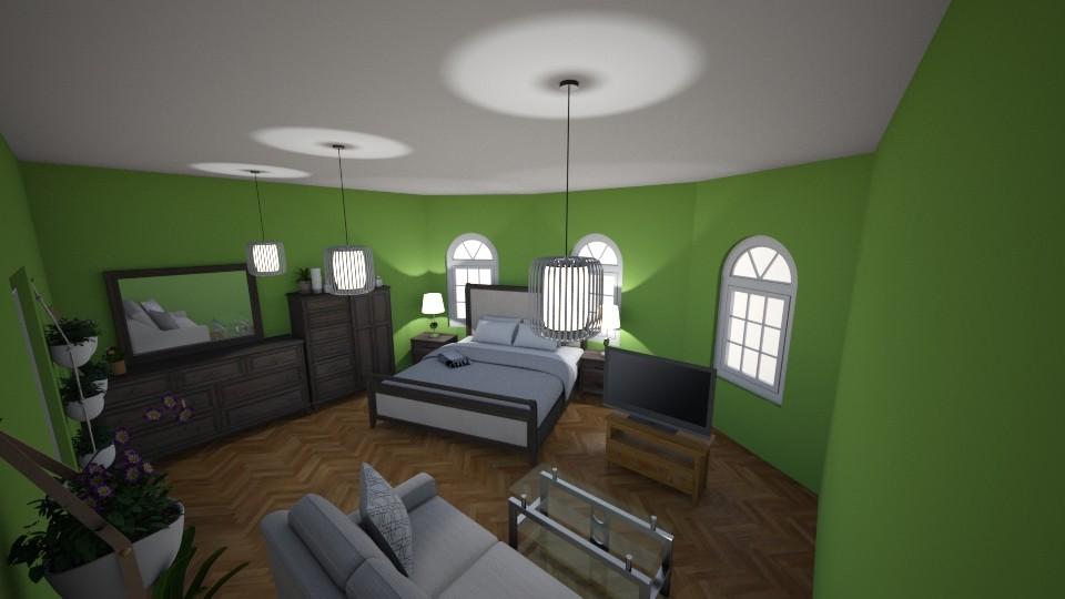 dormitorul verde - by Htcdgdog