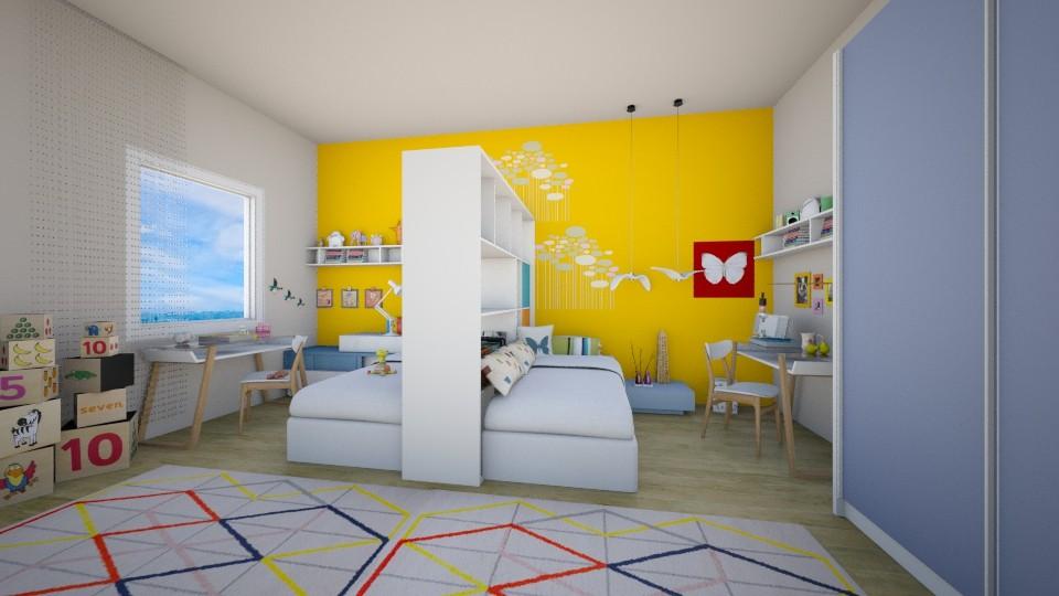 cameretta bimbi - Classic - Kids room - by svetlysveva