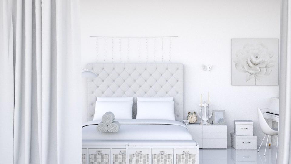 White Daydream - by designer71034