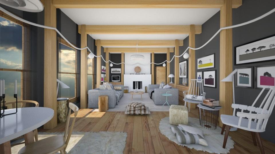 Renovation - Living room - by camilla_saurus