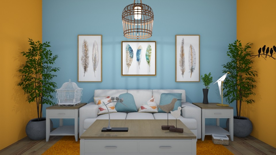 Birds of a Feather - Living room - by Lori Hallman Douglas_763