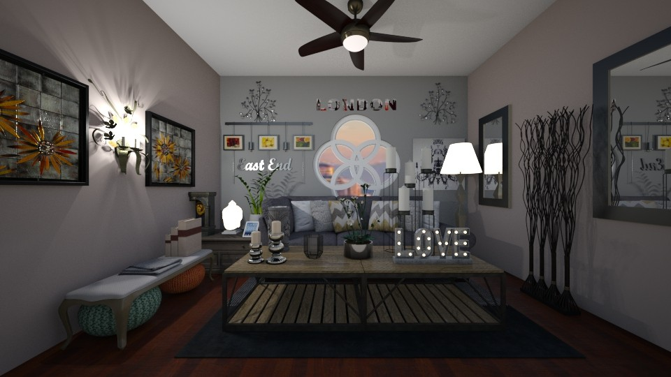 Front Room Round Windows - by amwerner