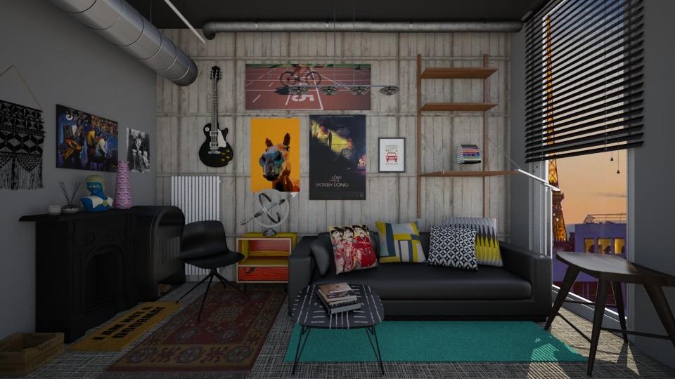 Y - Modern - Living room - by Karim Mahfouz