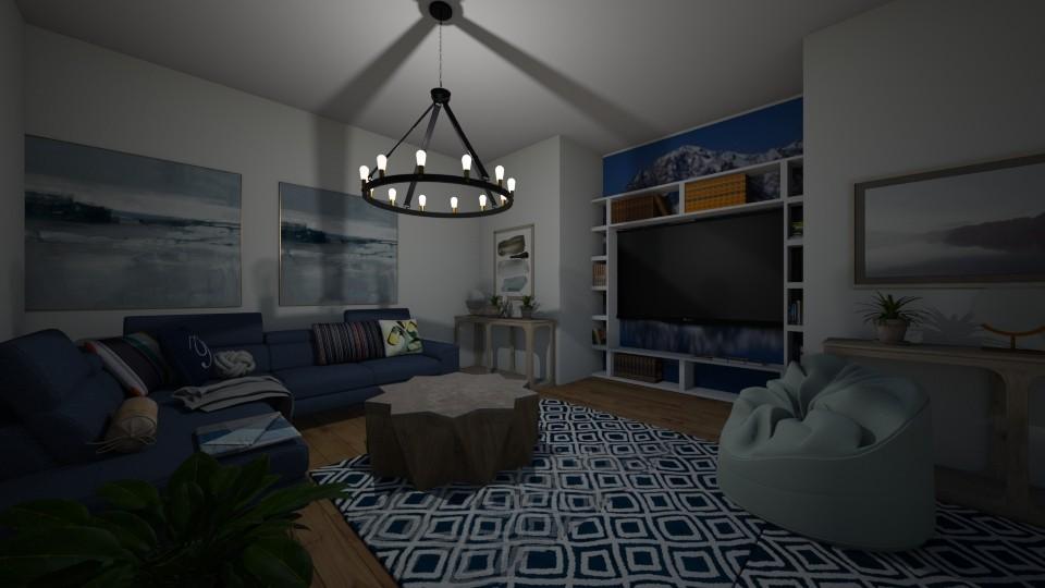 movier - Living room - by dena15