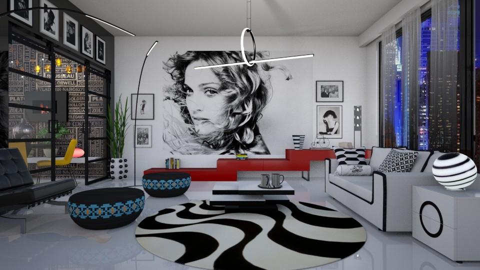modern estetik  - Modern - Living room - by Ida Dzanovic