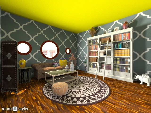 Family Room - Living room - by NatalieH