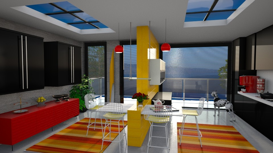Colorful Kitchen - Kitchen - by bigmama14