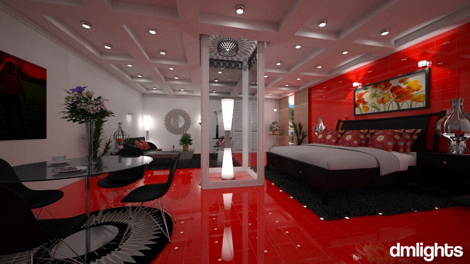 Quaeto Vermelho - Bedroom - by DMLights-user-994540