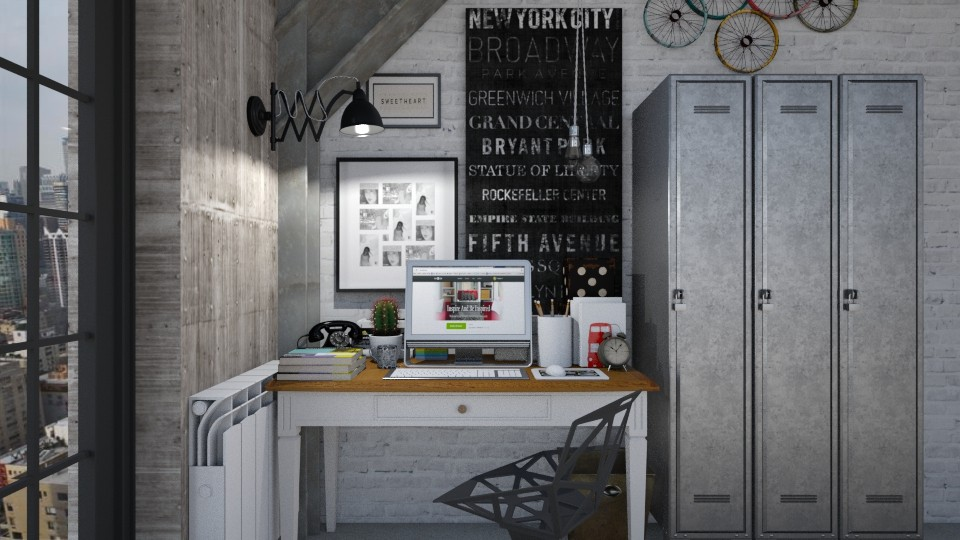 Industrial Office - Office - by meggle