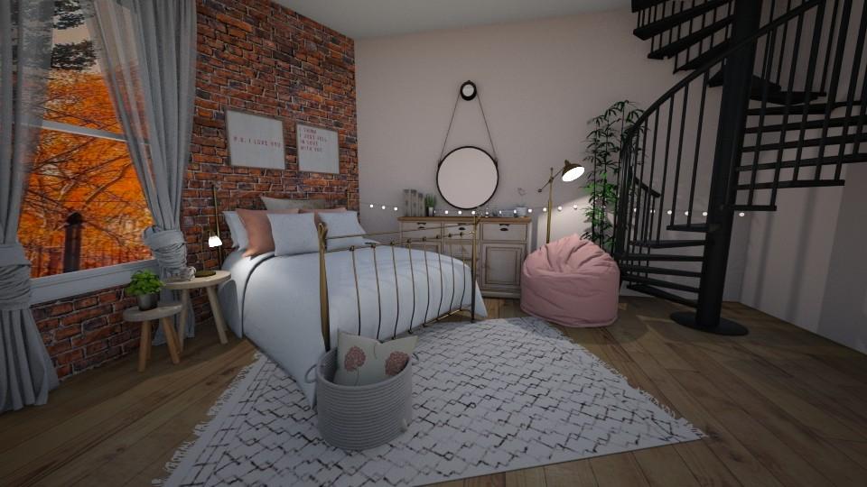 Bedroom  - Bedroom - by aheino16