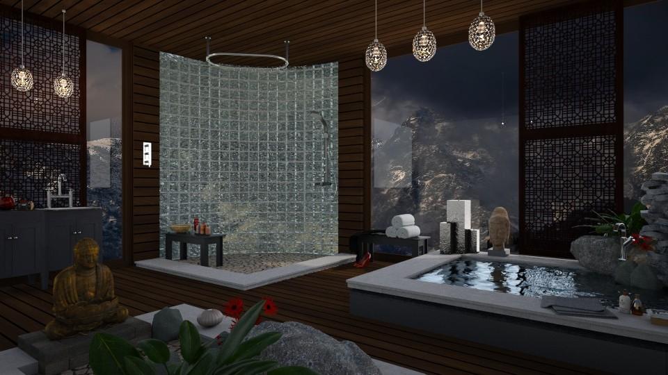 Alpine - Modern - Bathroom - by mmehling