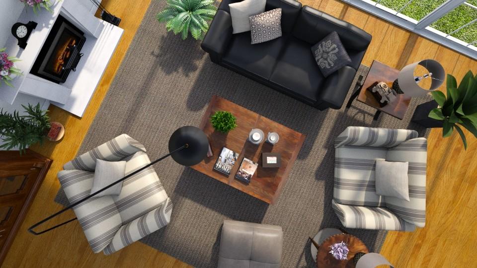 Overhead 2 - Living room - by GraceKathryn