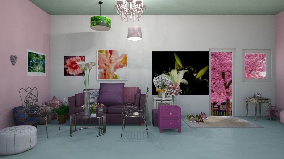 Spring Room - by LittleKittens