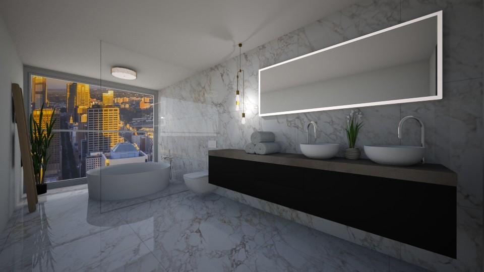 fancy bathroom - Bathroom - by erladisgudmunds