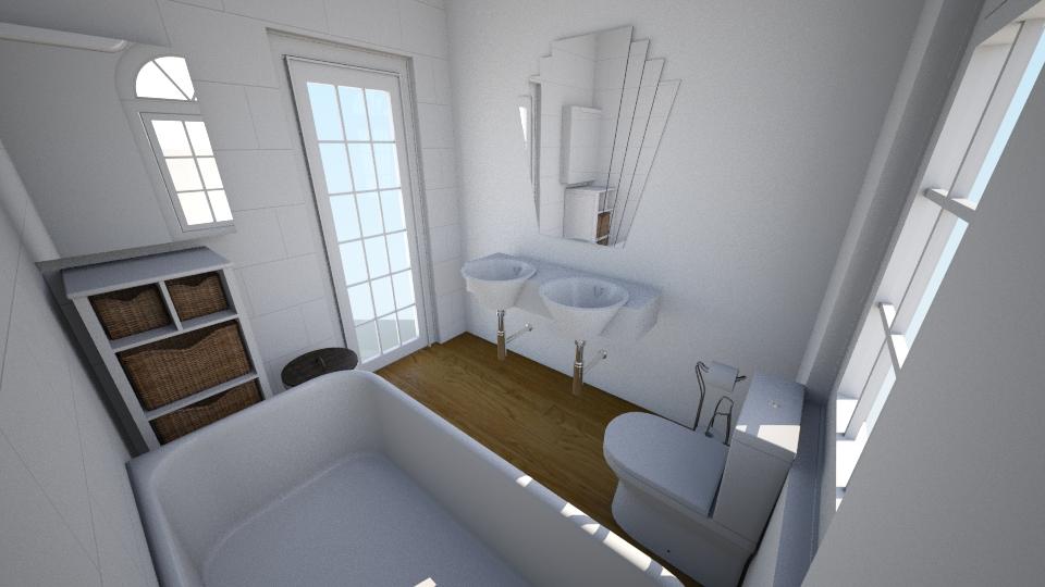25 New Cross Road - Bathroom - by rachelbbridge