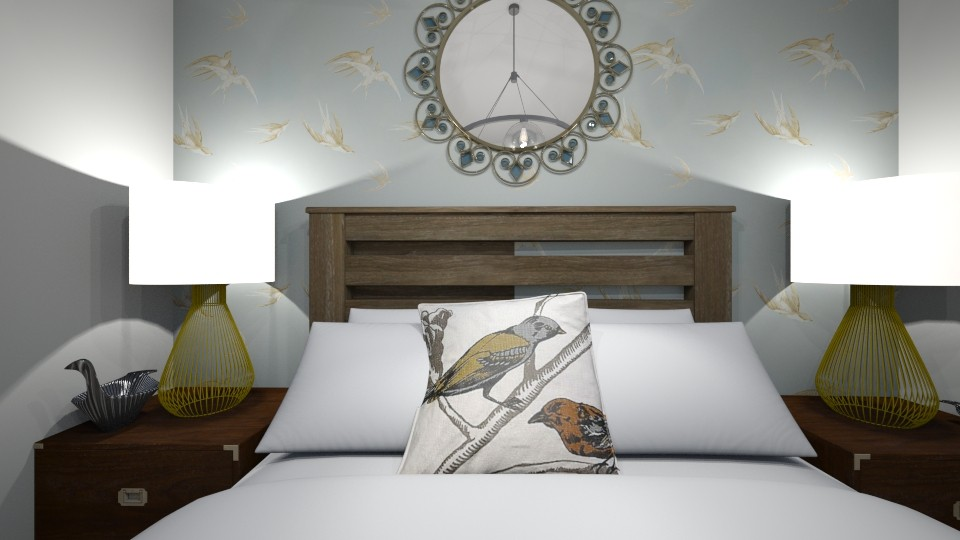 Bird Lover Room - Bedroom - by ElieK