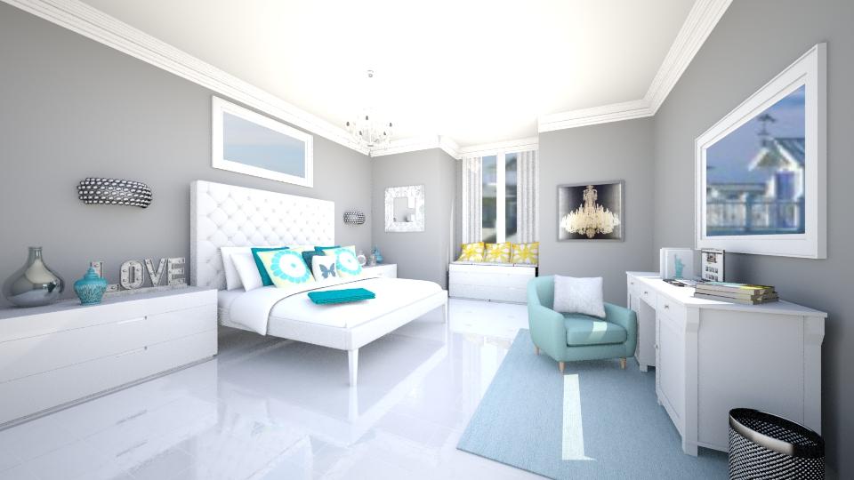 Relaxing Bedroom - Bedroom - by jessicabaucke