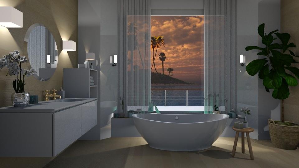 Bath in the Island  - Modern - Bathroom - by Elya Vovak
