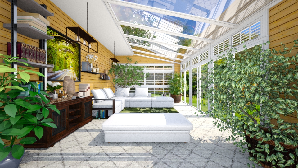 Greenhouse - Garden - by Joao M Palla