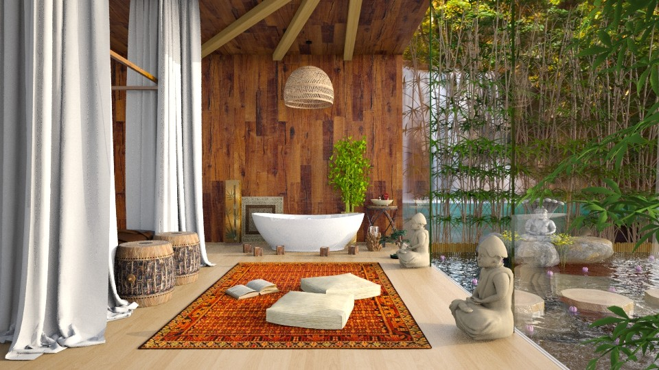 Thai Resort ll - Bedroom - by DeborahArmelin