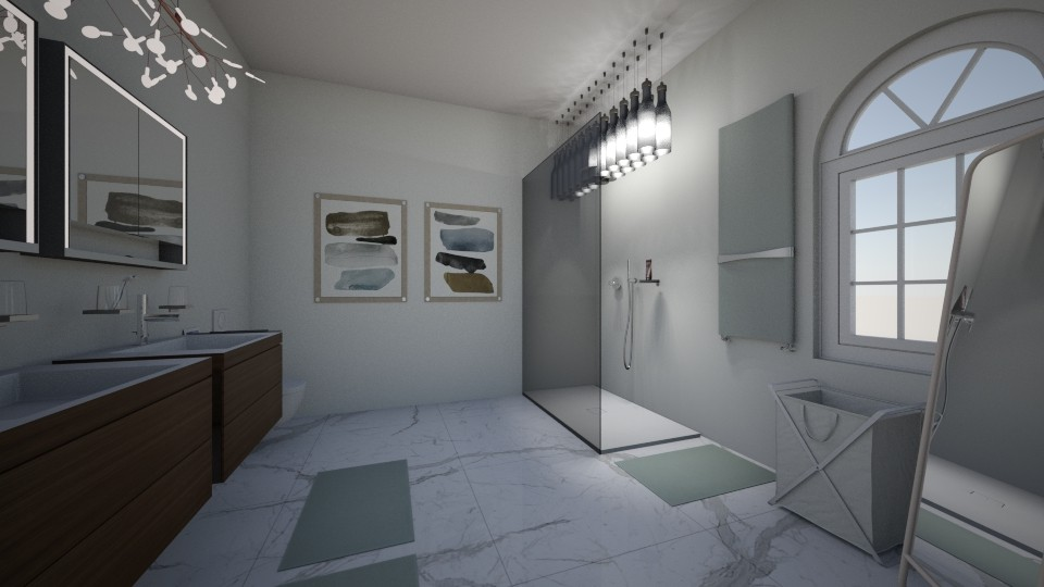 No Title Yet - Bathroom - by emmakatherinee