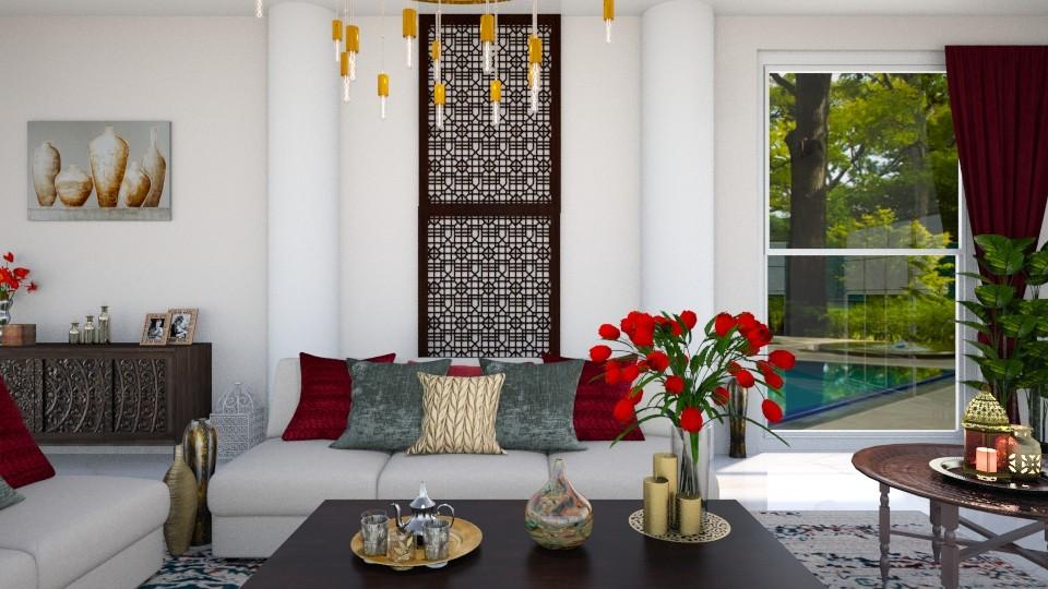 Maximalist Livingroom - Living room - by luxury style