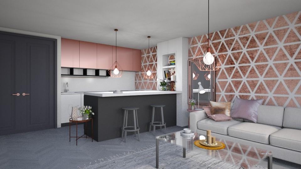 pink - Kitchen - by bohdalkovakata