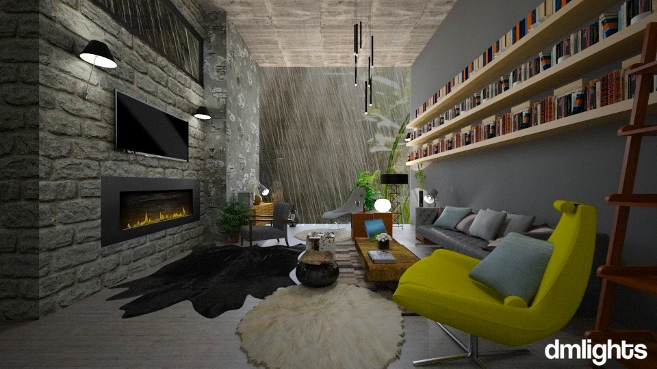raining_all_day - Living room - by Mihailovikj Mimi