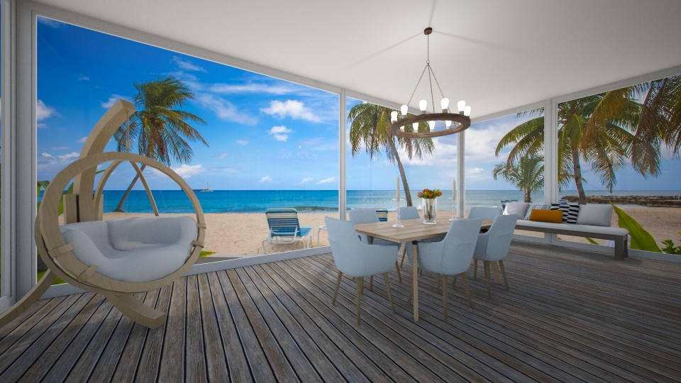 beach house - Dining room - by erladisgudmunds