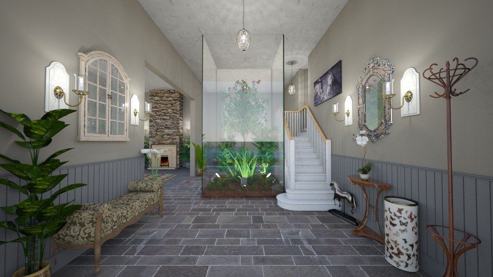 Dreamhouse Entrance  - by Kelly Carter