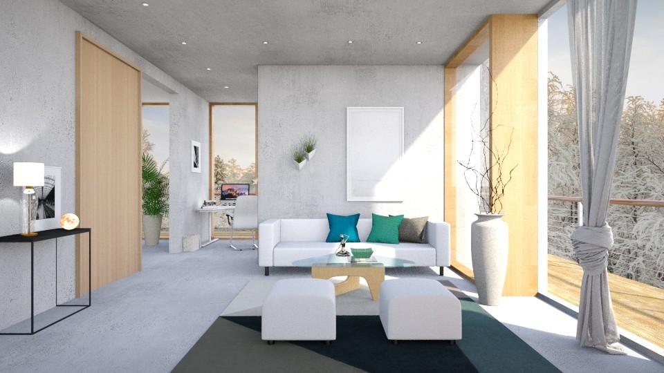 Concrete house - by barnigondi