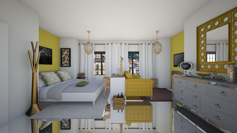 conjugado - Living room - by Tainaraa