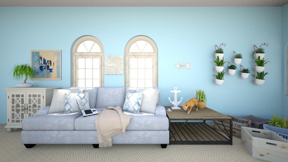 Ocean Breeze - Living room - by Birb