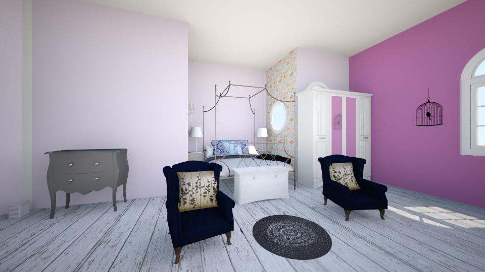 dreamroom - Bedroom - by AdriennSamu