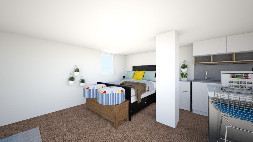 room - Bedroom - by nicolebevan