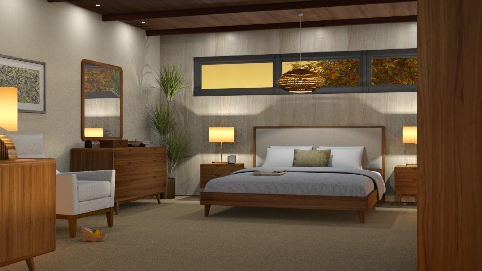 MC Modern Bedroom - by GraceKathryn